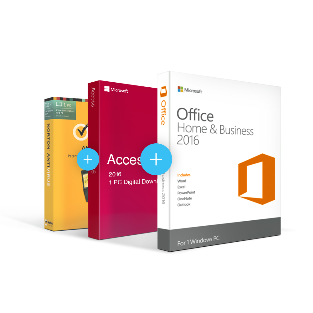 Combo Office 2016 Home & Business + Access + Antivirus - Buy Combo ...