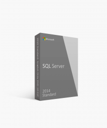 Microsoft Retail SQL Server Standard 2014 English Only DVD 10 Clt
