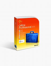 Microsoft Office 2010 Professional Product Keycard License.