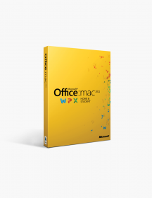 Microsoft Office 2011 Home And Student For Mac - International.