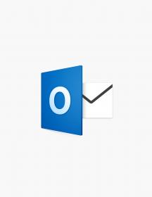 Microsoft Outlook 2016.