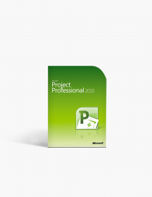 Microsoft Project 2010 Professional.