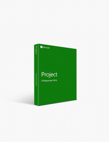 Microsoft Project 2016 Professional (1pc).