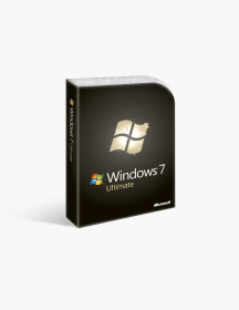 Microsoft Windows 7 Ultimate 64 Bit.