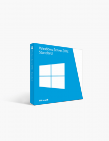 Microsoft Windows Server 2012 Standard.