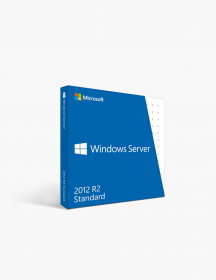Microsoft Windows Server 2012 R2 Standard.