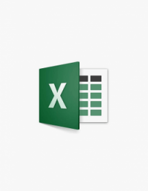Microsoft Excel 2016.