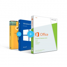Combo Office 2013 Home & Student + Windows 8.1 + Antivirus