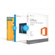 Combo Office 2016 Home & Student + Windows 10 + Antivirus