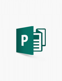 Microsoft Publisher 2016.