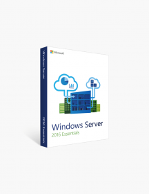 Microsoft Windows Server 2016 Essentials.