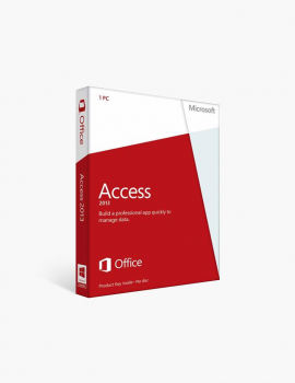 Microsoft Access 2013 - 1 Install (Download Delivery)