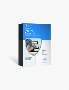 McAfee Internet Security 2015 1 Year 3 Users