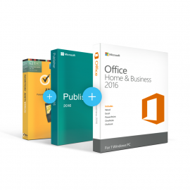 Combo Office 2016 Home & Business + Publisher + Antivirus