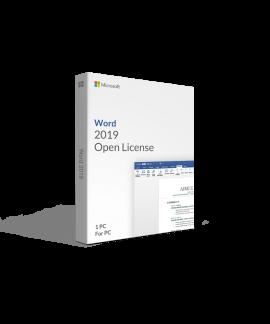 Microsoft Word 2019 Open License