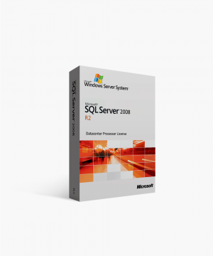 Microsoft SQL Server 2008 R2 Datacenter Processor License
