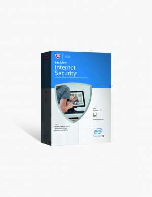 McAfee Internet Security 2015 1year/3users