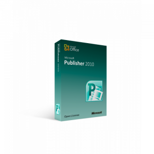 Microsoft Publisher 2010 Open License