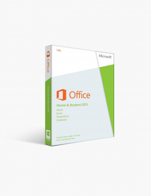 Microsoft Office 2013 Home and Student 1 Pc License.