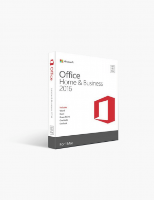 Office 2016 Home & Business For Mac.