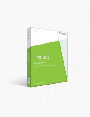 Microsoft Project 2013 Standard.