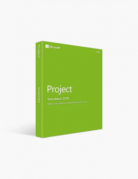 Microsoft Project 2016 Standard (for Pc Only).