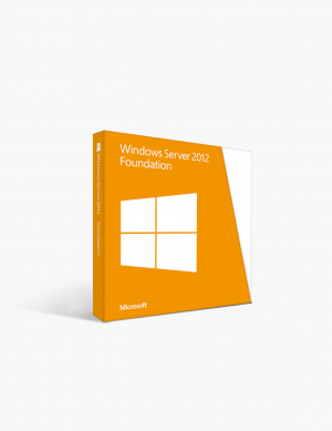 Microsoft Windows Server 2012 Foundation.