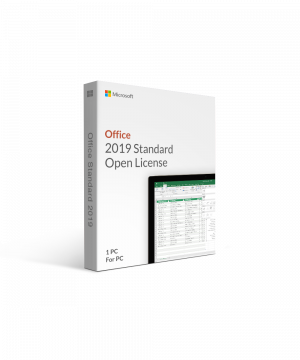 Microsoft Office 2019 Standard Open License