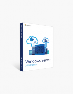 Microsoft Windows Server 2016 Standard.