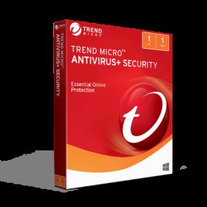 Trend Micro Antivirus Security 2019 (1PC / 1YR)