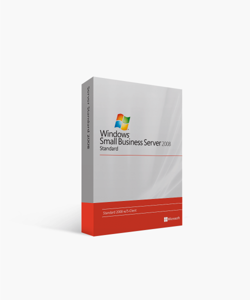 Microsoft Small Business Server Standard 2008 w-5-Client