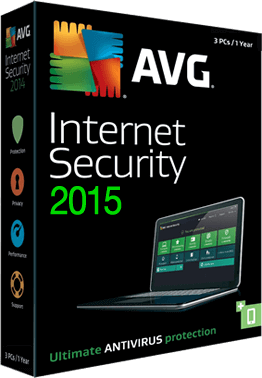 Avg Antivirus 2015 - 1 Year 1 PC