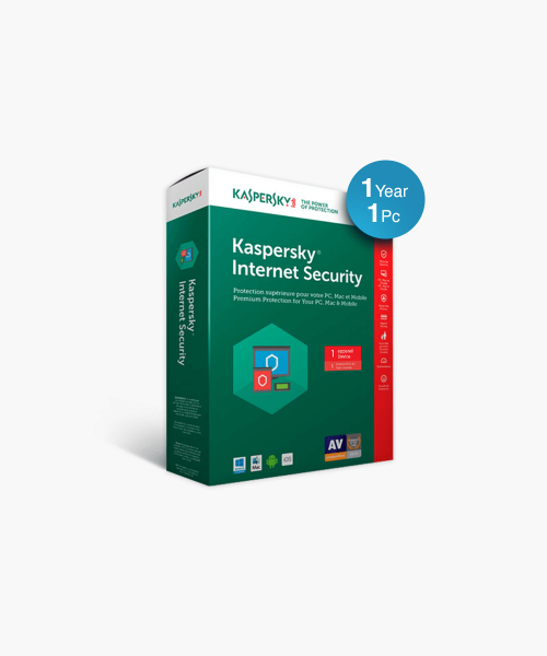 Kaspersky Internet Security (1 Pc / 1 Year)