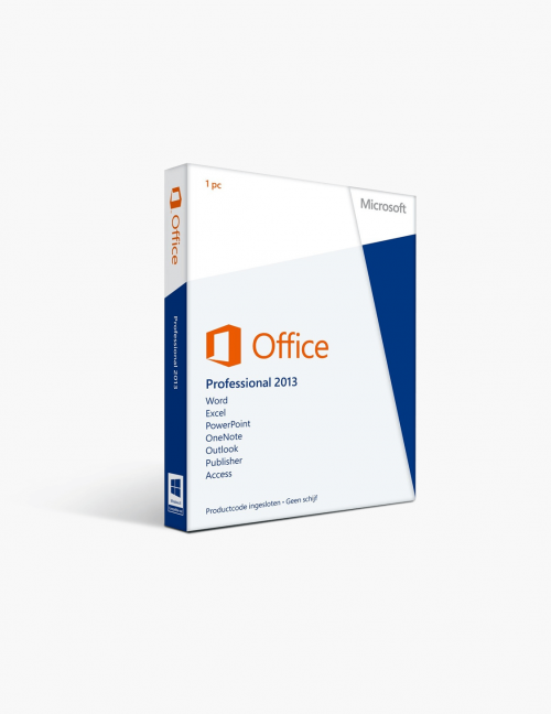 Microsoft Office 2013 Professional.