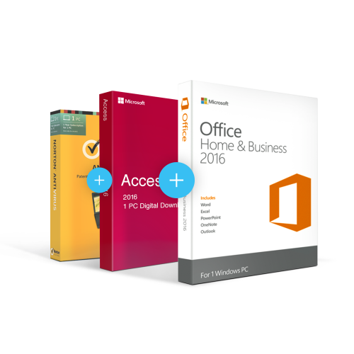 Combo Office 2016 Home & Business + Access + Antivirus