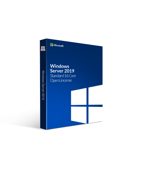Microsoft Windows Server 2019 Standard 16 Core Open License