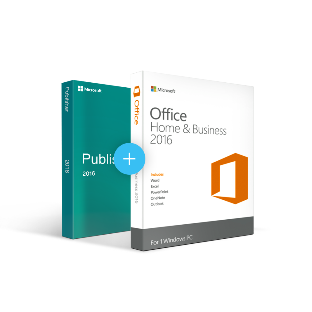 Combo Office 2016 Home & Business + Publisher